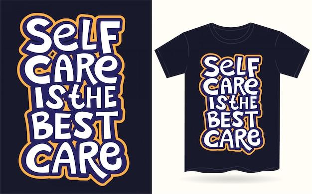 Handbeschriftungs-motivationsslogan für t-shirt