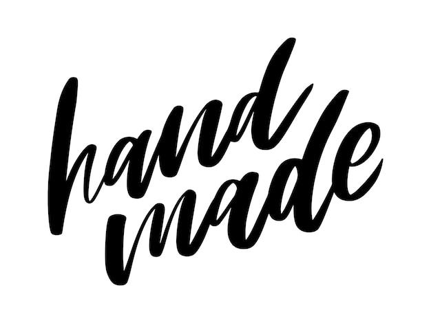 Handgemachte beschriftung. vintage schriftdesign vintage-stil. kalligraphische schrift. vintage typografie. skizze, slogan