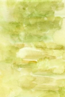 Handgemalt vom grünen abstrakten aquarellhintergrund