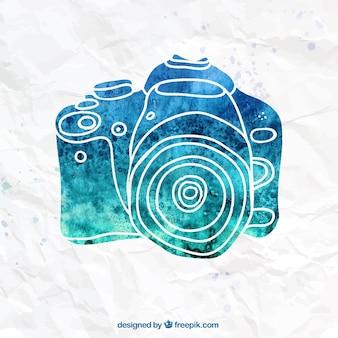 Handgemalte kamera