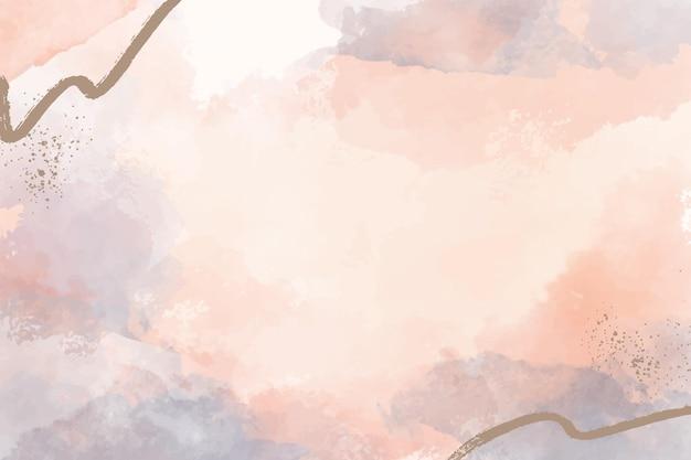 Handgemalter abstrakter hintergrund in aquarell