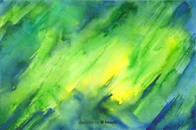 Handgemalter bunter aquarellhintergrund