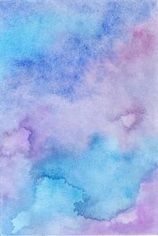 Handgemalter hintergrund des abstrakten aquarells