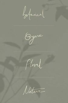 Handgeschriebene wörter an einer wand