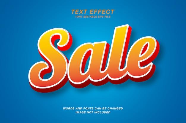Handgeschriebener 3d-texteffekt