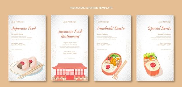 Handgezeichnete food-instagram-geschichten