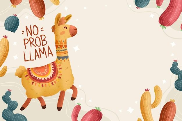 Handgezeichnete keine problama-illustration