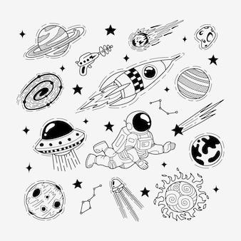 Handgezeichneter doodle-raum