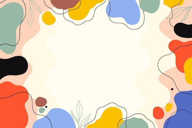 Handgezeichneter minimaler hintergrund
