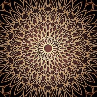 Handgezeichneter orientalischer dekorativer ethnischer spitzenhintergrund für t-shirt-design, vintage-karte, partyeinladung, poster, modehalstuch, schal, broschüren, geschenkalbum, sammelalbum usw