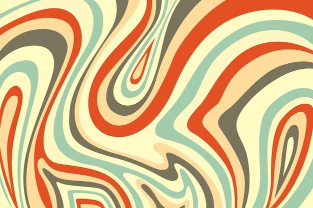 Handgezeichneter psychedelischer hintergrund