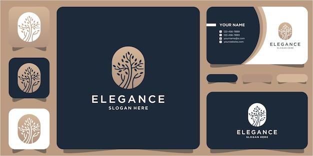 Handgezeichnetes, feminines und modernes logo-design