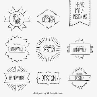 Handmade abzeichen