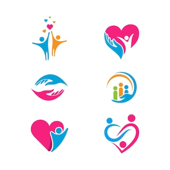 Handpflege symbol vorlage vektor-illustration design