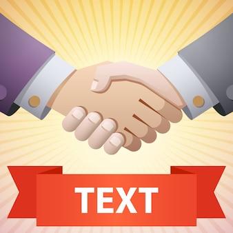Handshake-abbildung