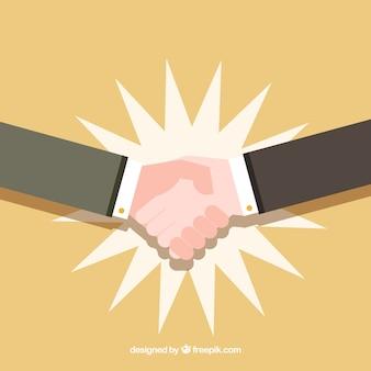 Handshake vektor