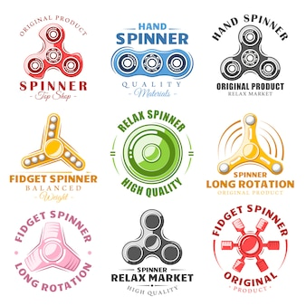 Handspinner-logos