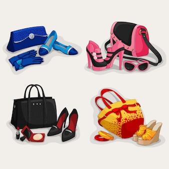 Handtasche entwirft kollektion