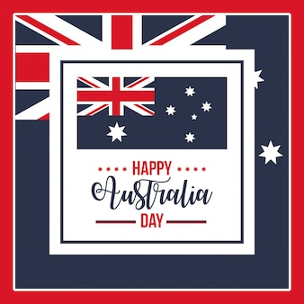 Happy australia day feier