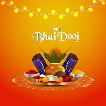 Happy bhai dooj und kreativ