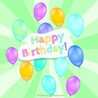 Happy birthday vektor-design