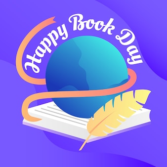 Happy book day hintergrund