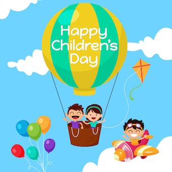 Happy children's day hintergrund