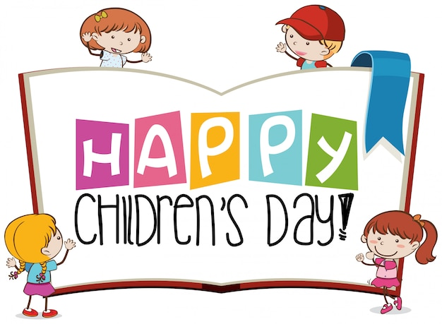 Happy childrens day-szene