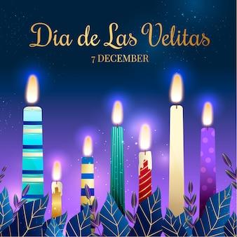 Happy dia de las velitas und mistel