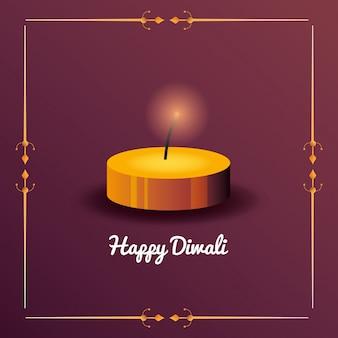 Happy diwali feier