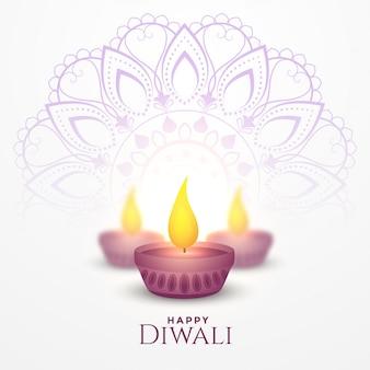 Happy diwali festival karte