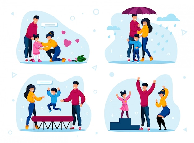 Happy family routines, aktivitäten konzepte