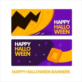 Happy halloween banner gesetzt