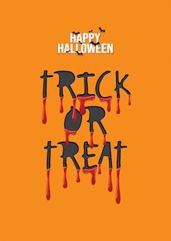Happy halloween hintergrund, süßes oder saures.