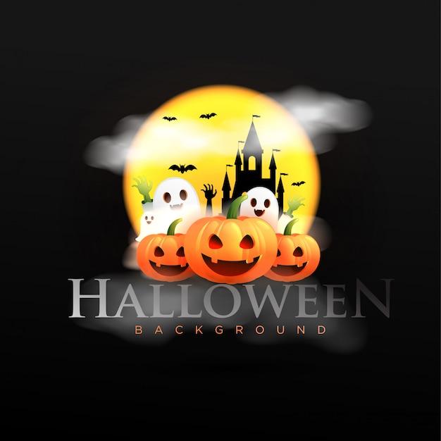 Happy halloween hintergrund