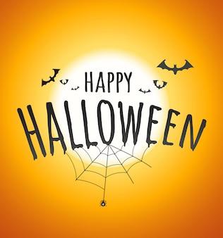 Happy halloween-konzept