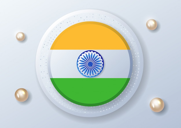 Happy indian independence day feier - 15. august