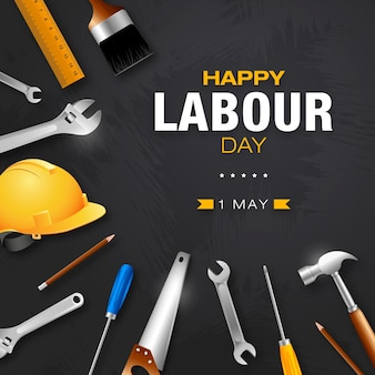 Happy international labour day feier zum 1. mai day workers day