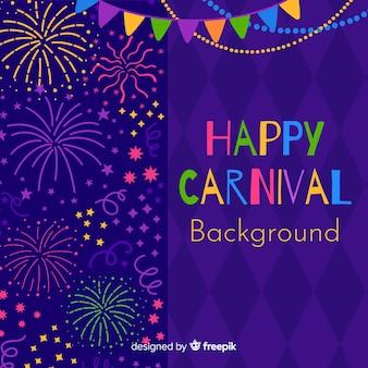 Happy karneval hintergrund