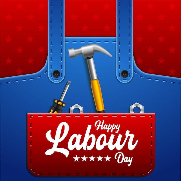 Happy labour day grußkarten