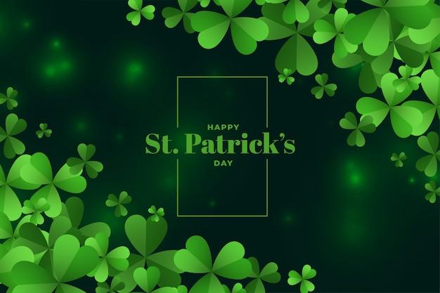 Happy saint patricks day festival hintergrund