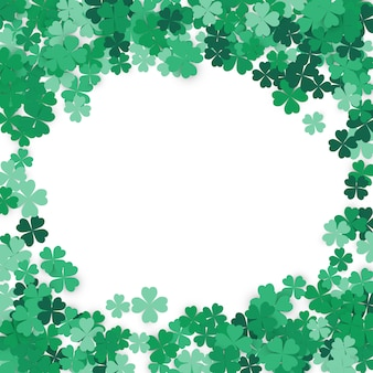 Happy st. patrick's day hintergrund.
