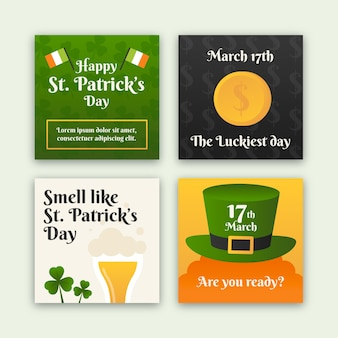 Happy st. patrick's day instagram geschichten