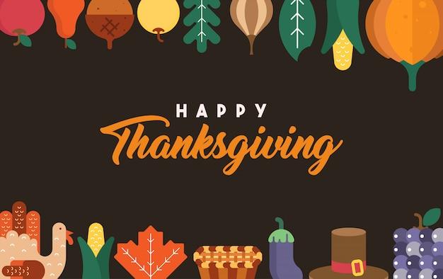 Happy thanksgiving-abbildung