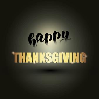 Happy thanksgiving-banner-design