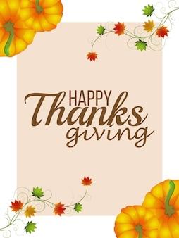 Happy thanksgiving day feier flyer