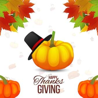 Happy thanksgiving day hintergrund