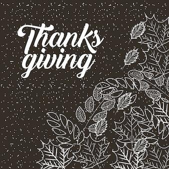 Happy thanksgiving feiern