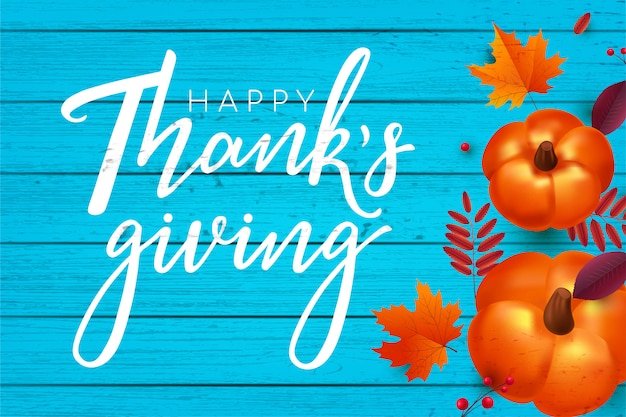 Happy thanksgiving hintergrund.