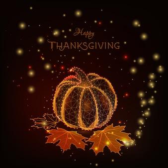 Happy thanksgiving-karte